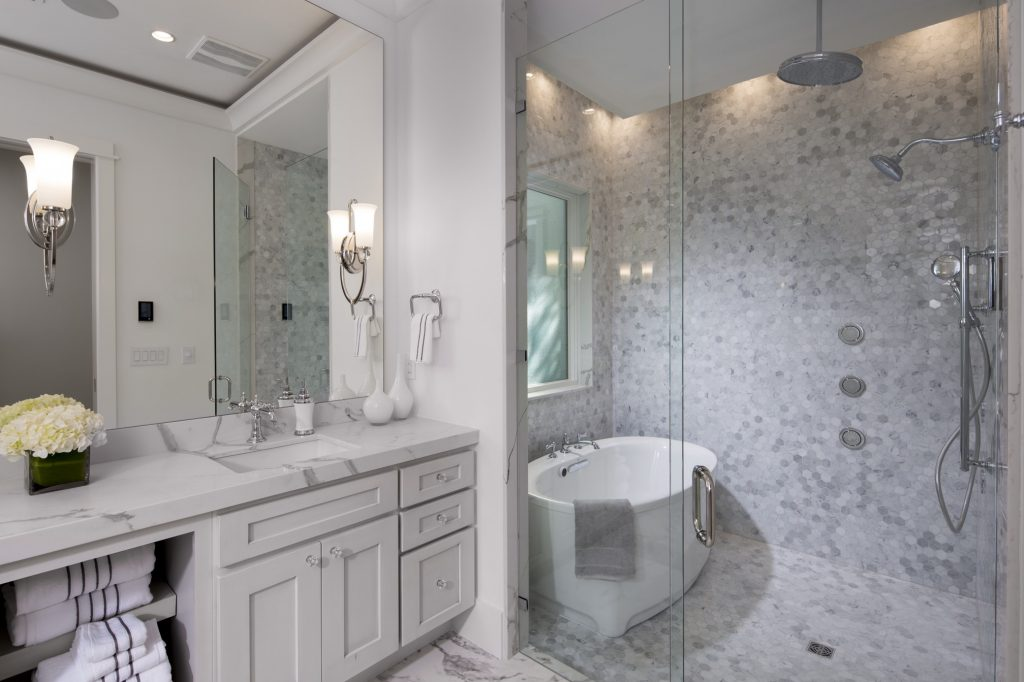 Current bathroom trends