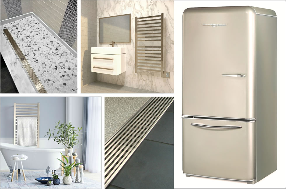 Newest Finishes for Kitchen and Bath Worth Celebrating