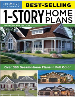 1 Story Home Plans