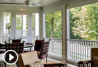 3 Season Porch with Automatic Screens