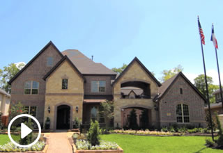 Luxury Home Model by Toll Brothers