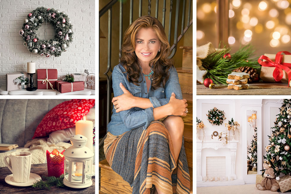How Kathy Ireland would decorate your house for the holidays