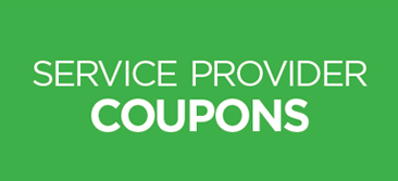 Service Provider Coupons