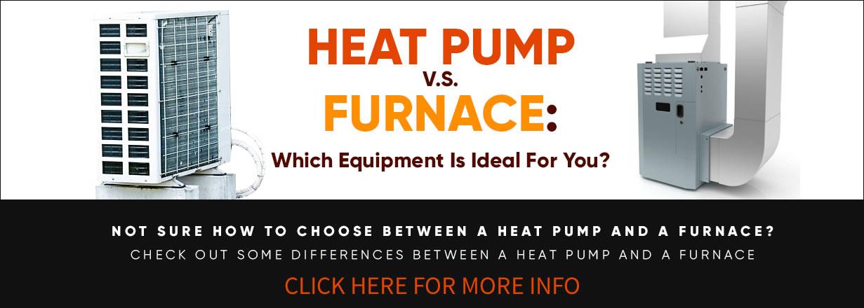 Heat Pump VS Furnace Infographic