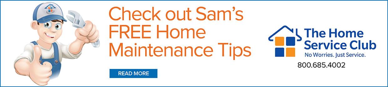 Sam's Home Maintenance Tips Desktop